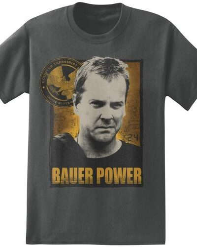 24 Jack Bauer Power Charcoal
