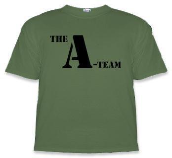 The A-Team Logo Adult