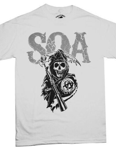 Sons of Anarchy Cracked Letters