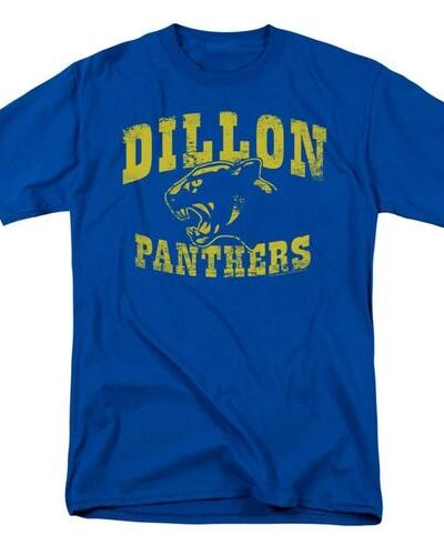 Friday Night Lights Dillon Panthers Distressed