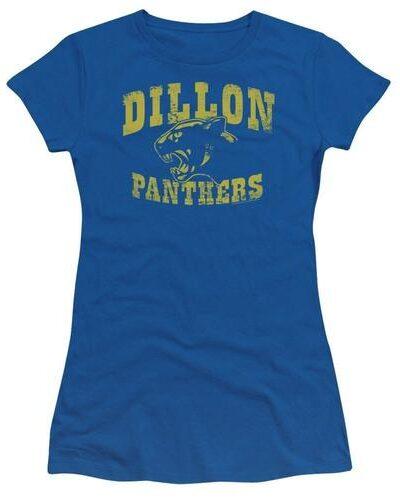 Dillon Panthers Distressed Royal Blue Juniors