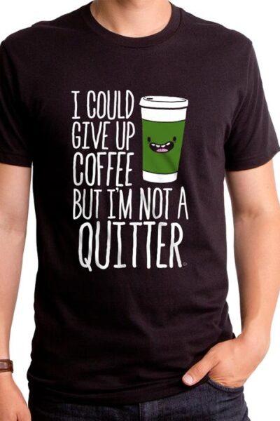 COFFEE QUITTER MEN'S T-SHIRT