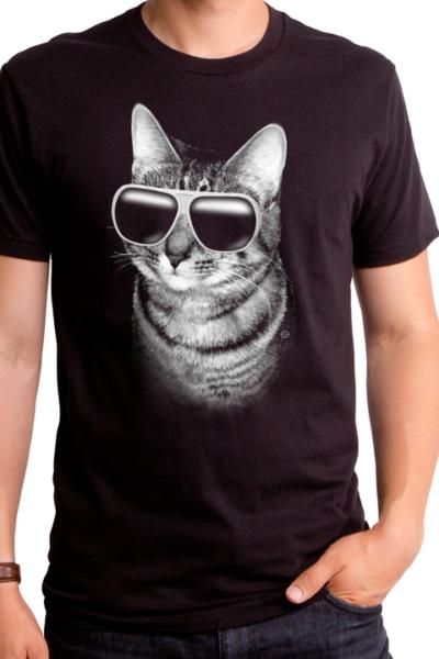COOLER CAT MEN'S T-SHIRT