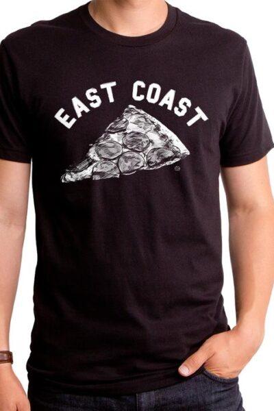 EAST COAST PIZZA MEN'S T-SHIRT