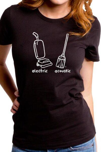ELECTRIC ACOUSTIC WOMEN'S T-SHIRT