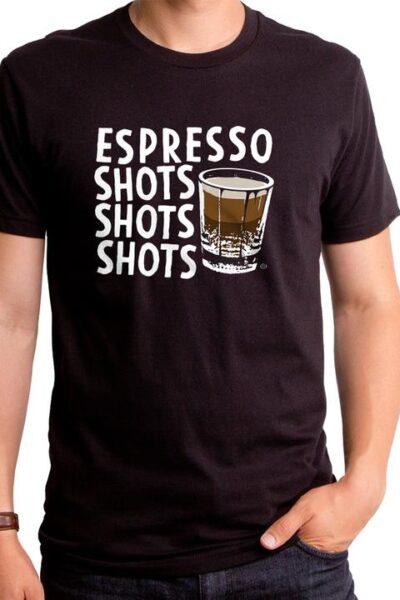 ESPRESSO SHOTS MEN'S T-SHIRT