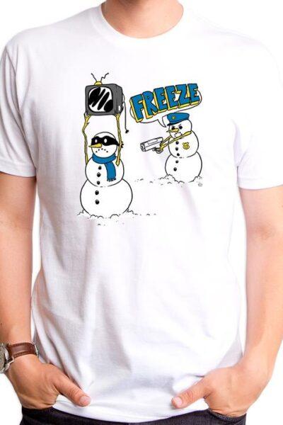 FREEZE SNOWMAN MEN'S T-SHIRT