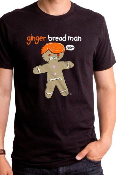 GINGER BREAD MAN MEN'S T-SHIRT