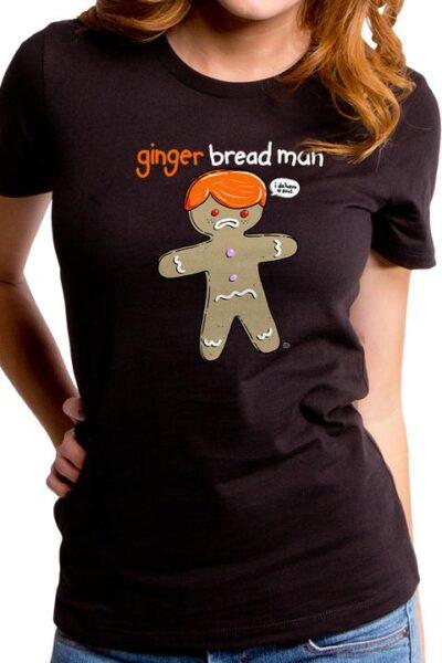 GINGER BREAD MAN WOMEN'S T-SHIRT