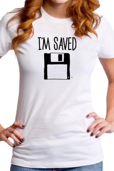 I'M SAVED WOMEN'S T-SHIRT