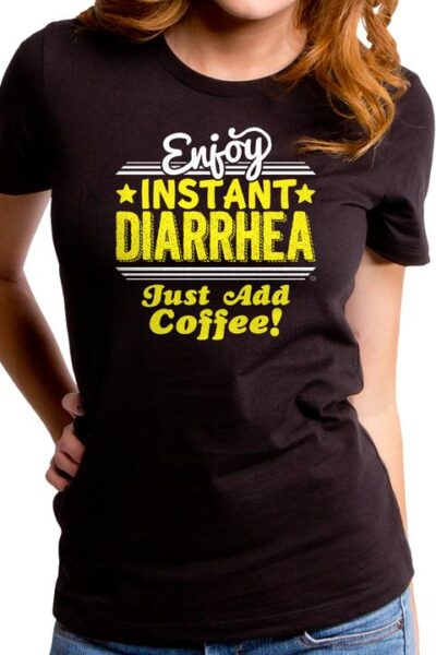INSTANT COFFEE WOMEN'S T-SHIRT