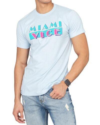 Miami Vice Light Blue Logo