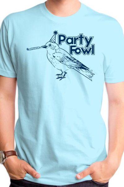 PARTY FOWL MEN'S T-SHIRT