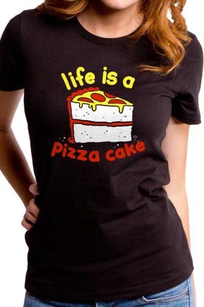 PIZZA CAKE WOMEN'S T-SHIRT