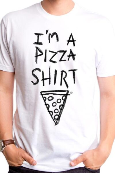 PIZZA SHIRT MEN'S T-SHIRT