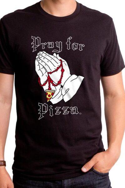 PRAY FOR PIZZA MEN'S T-SHIRT
