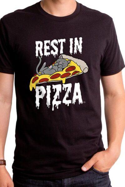 REST IN PIZZA MEN'S T-SHIRT