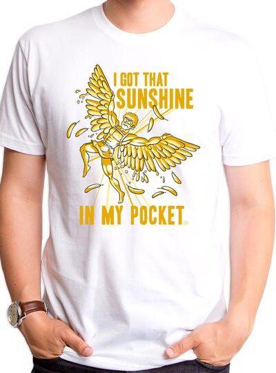 SUNSHINE IN MY POCKET MEN'S T-SHIRT