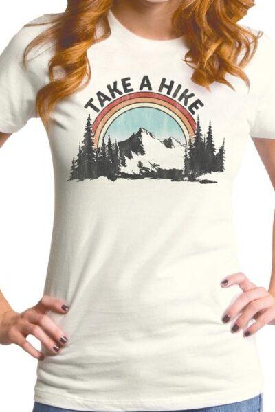TAKE A HIKE WOMEN'S T-SHIRT