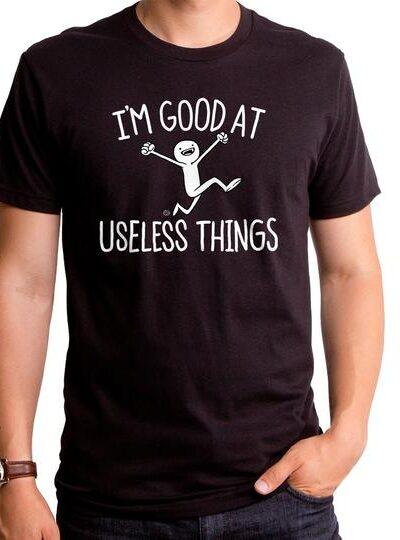 USELESS THINGS MEN'S T-SHIRT