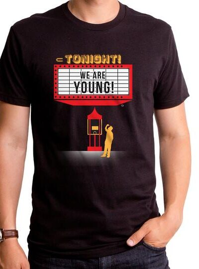 WE ARE YOUNG MARQUEE MEN'S T-SHIRT