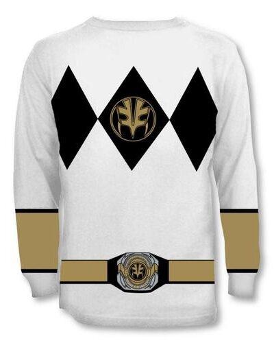 White Ranger Falcon Costume