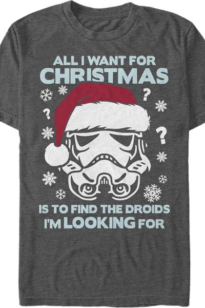 All I Want For Christmas Star Wars