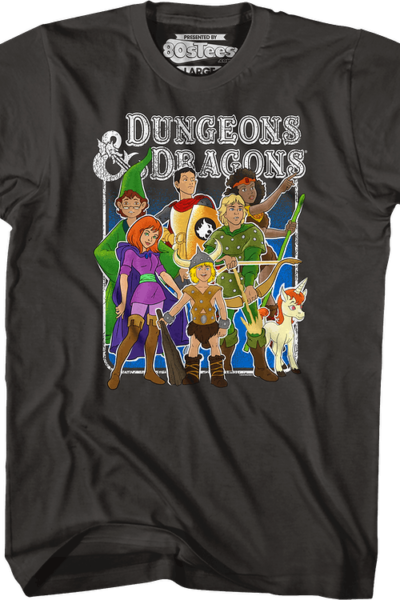 Animated Friends Dungeons & Dragons