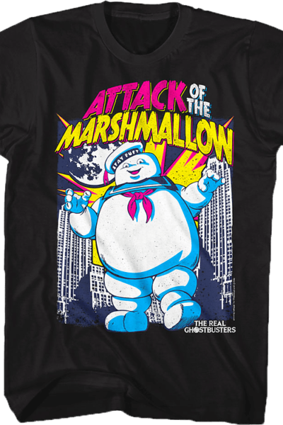 Attack of the Marshmallow Real Ghostbusters