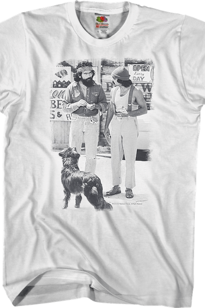 Black And White Up In Smoke Cheech And Chong