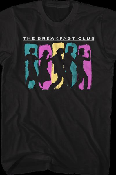 Dancing Silhouettes Breakfast Club