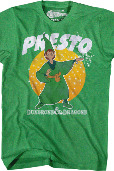 Green Presto the Magician Dungeons & Dragons