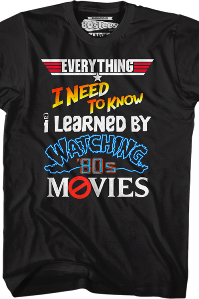 Everything I Need To Know 80s Movies