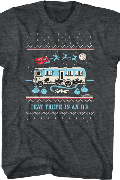Faux Ugly Knit RV Christmas Vacation