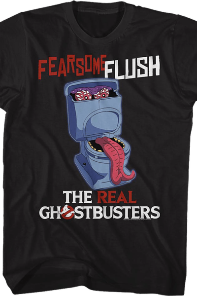 Fearsome Flush Real Ghostbusters