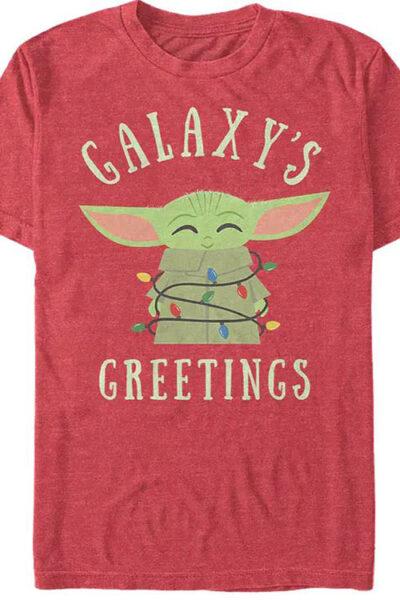 The Mandalorian Child Galaxy's Greetings Star Wars