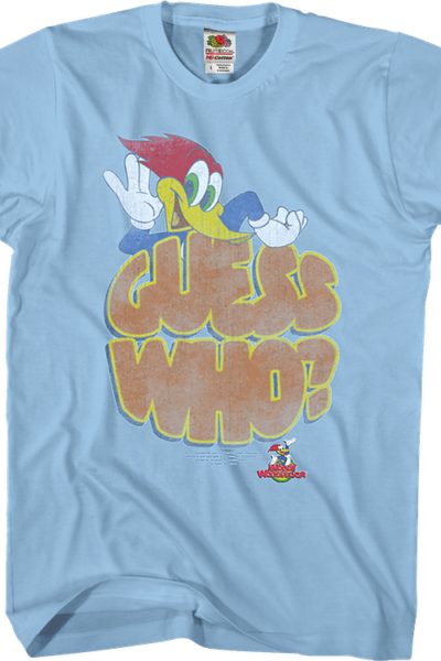 Guess Who Woody Woodpecker