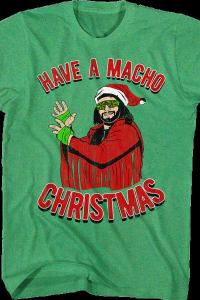 Have A Macho Christmas Randy Savage