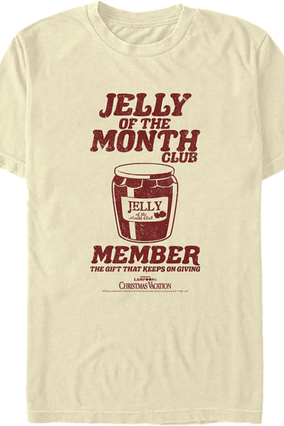 Jelly Of The Month Club Member Christmas Vacation