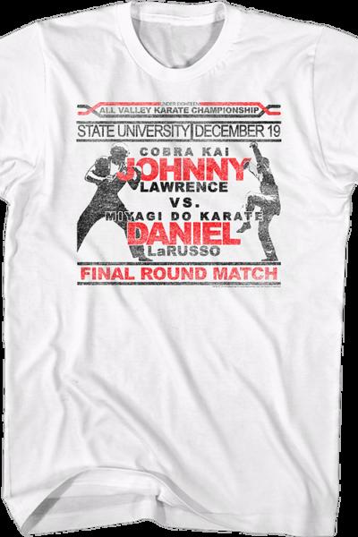 Johnny Vs Daniel Karate Kid
