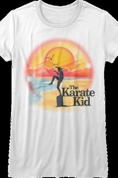 Ladies Airbrush Karate Kid