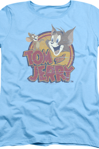 Womens Logo Tom and Jerry