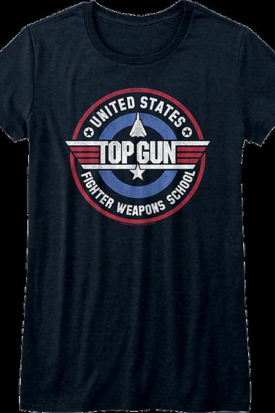 Ladies Fighter Weapons School Top Gun