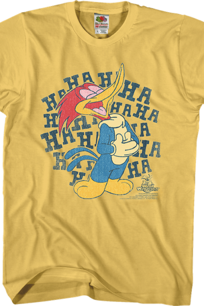 Laughing Woody Woodpecker