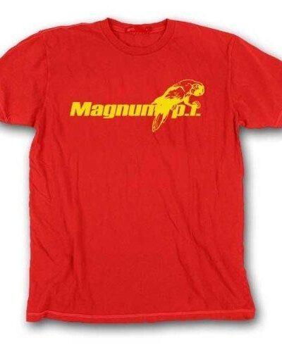 Magnum P.I. Parrot Logo Red
