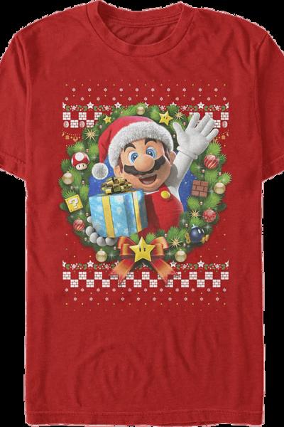 Mario Christmas Wreath Nintendo