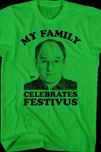 My Family Celebrates Festivus Seinfeld