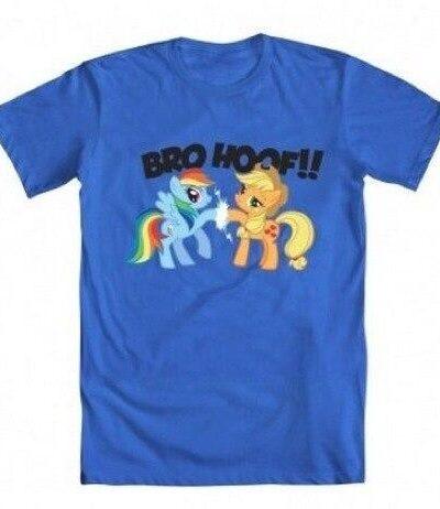 Friendship Is Magic Rainbow Dash and Applejack Bro Hoof