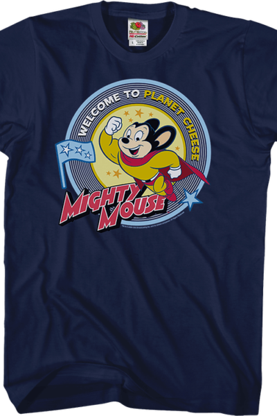 Planet Cheese Mighty Mouse