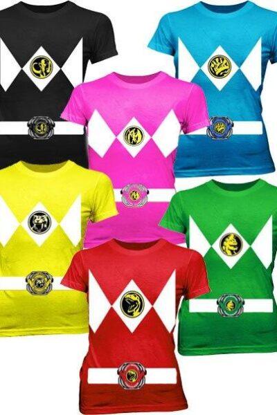 Power Rangers Costume Juniors